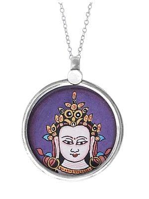 Lord Buddha Sterling Silver Pendant