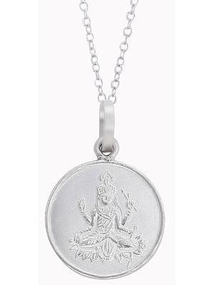 Goddess Bhuvaneshwari Yantra Pendant