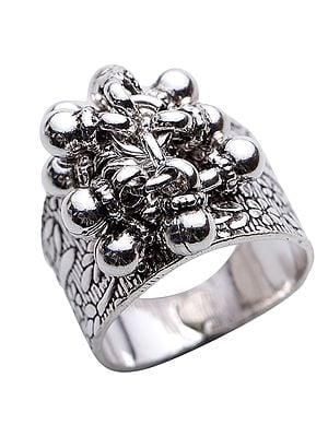 Sterling Gypsy Ring