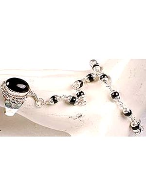 Black Onyx Slave Bracelet