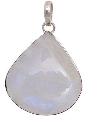 Moonstone Tear-Drop Pendant