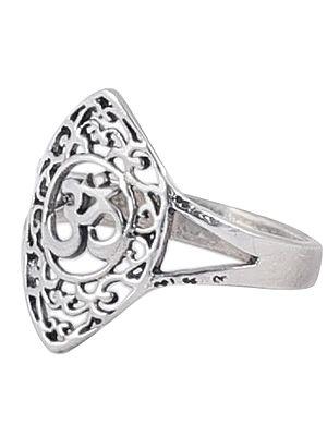 OM Sterling Silver Ring