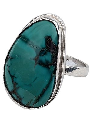 Turquoise Ring With Sterling Silver