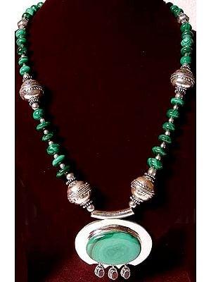 Necklace of Malachite
