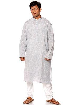 Pale-Blue Khadi Kurta Pajama