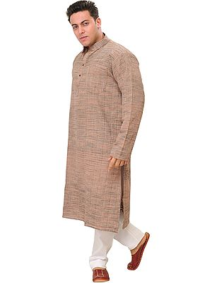 Pure Handspun Charkha Cotton Kurta Pajama