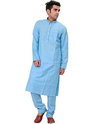 Plain Kurta Pajama with Front Pocket