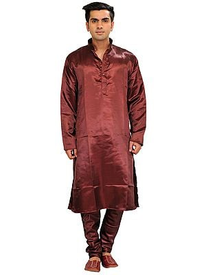 Plain Casual Kurta Pajama Set