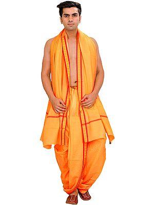 Chamomile Ready to Wear Dhoti and Veshti Set