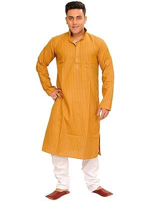 Striped Printed Casual Kurta Pajama Set