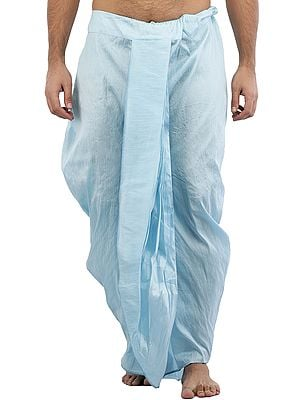 Ready to Wear Plain Silk Dhoti