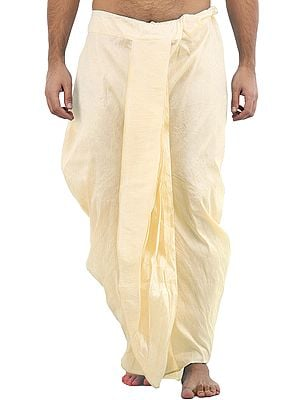 Ready to Wear Plain Silk Dhoti