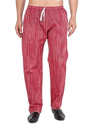 Casual Khadi Cotton Pajama from Iskon Vrindavan by BLISS