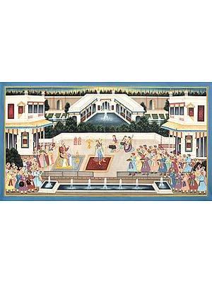 Dancing Court Scene