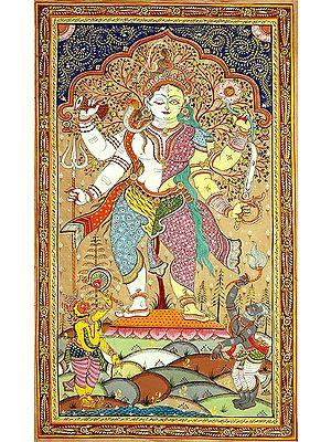 Adoration of Ardhanarishvara (Shiva Shakti)