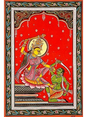 Bagalamukhi the Goddess who seizes the Tongue (Ten Mahavidya Series)