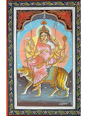 CHANDRAGHANTA - Navadurga (The Nine Forms of Goddess Durga)
