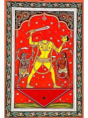 Chinnamasta the Goddess who cuts off her Own Head (Ten Mahavidya Series)