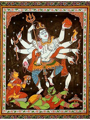 Cosmic Form of Dancing Shiva