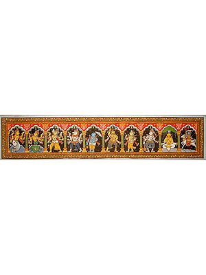 Dasavatara - Ten Incarnations of Lord Vishnu