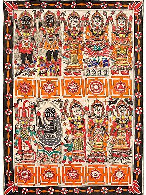 Ten Mahavidyas with Yantras