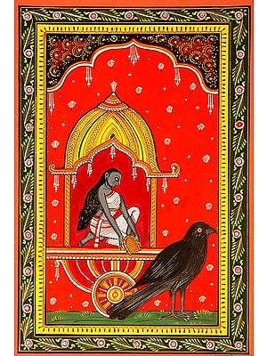 Dhumawati the Goddess who Widows Herself (Ten Mahavidya Series)