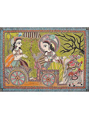 Gita Upadesha by Krishna to Arjuna