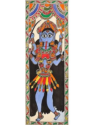 The Four Armed Goddess Kali