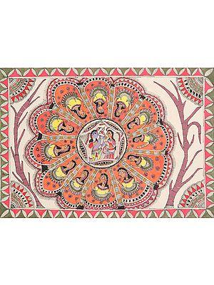 Krishnaleela Flower Mandala