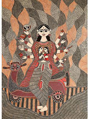 The Modern Woman as Durga