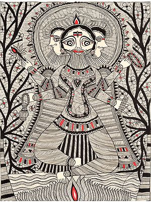 The Omniscient Gaze Of Lord Brahma