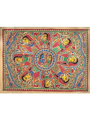 Krishna's  Rasa Lila