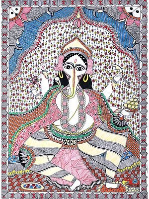 The Intelligent Eyes Of Ganesha, Lover Of Laddoos And Son Of Shiva