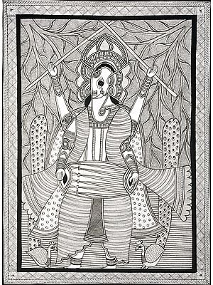 Drummer Ganesha