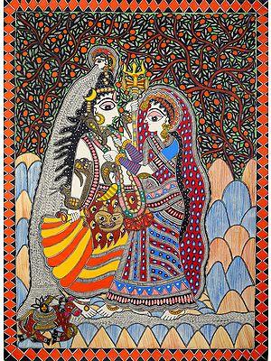 Auspicious Marriage of Shiva and Parvati