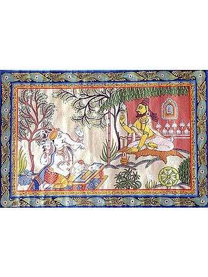 Ganesha, the Scribe