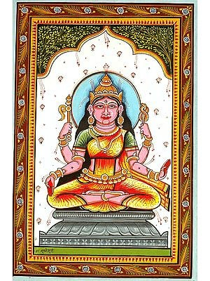 Goddess Bhuvaneshvari Shakti of the Manifested World (Ten Mahavidya Series)