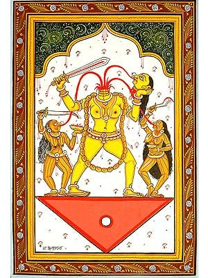 Goddess Chinnamasta (Ten Mahavidya Series)
