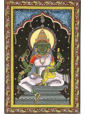 Goddess Kaumari (Shodash Matrikas)