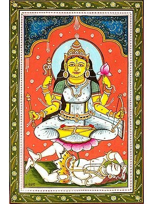 Goddess Shodashi - Who is Lovely in the Three Worlds (Ten Mahavidya Series)