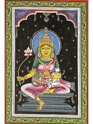 Goddess Vijaya (Shodash Matrikas)