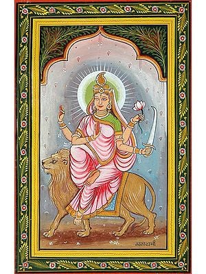 KATYAYANI - Navadurga (The Nine Forms of Goddess Durga)