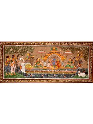 Krishna in the Boat of Love