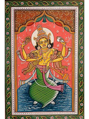 Much Like a Father would Hold up His Children.... Kurma Avatara (The Ten Incarnations of Lord Vishnu)