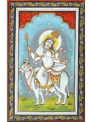 MAHAGAURI - Navadurga (The Nine Forms of Goddess Durga)