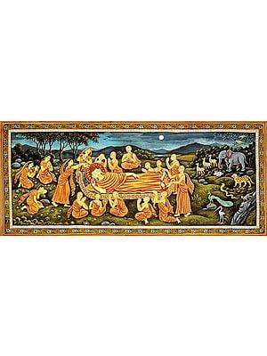 Mahaparinirvana of Shakyamuni Buddha