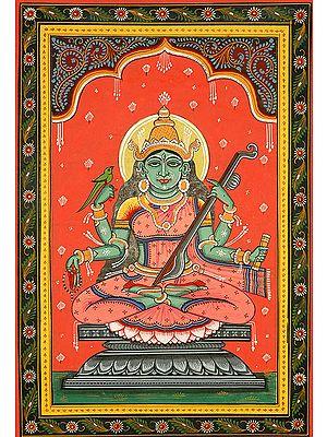 Matangi - The Outcaste Goddess (Ten Mahavidyas)