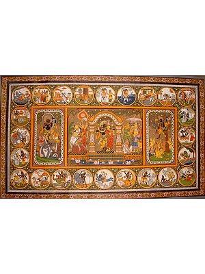 Of Krishna's Life and Exploits