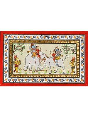 Shiva and Vishnu Ride the Same Animal