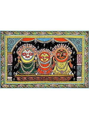 Sri Jagannatha in Shringara